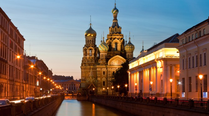 White Nights St Petersburg
